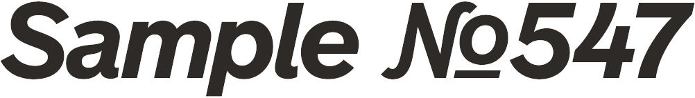 Bold Italic Display Alternates